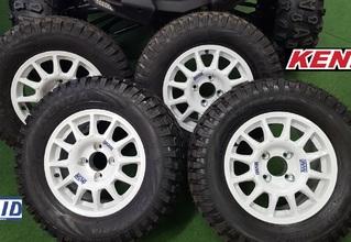 Pack roues renforcées BRAID + pneus KENDA K576 Rallye CFMOTO